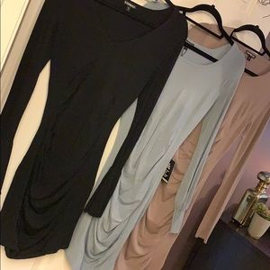 Express sweater dress lot